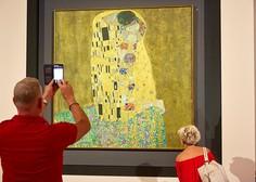 Ukradena in za skrivnimi vrati najdena Klimtova slika bo od novembra na ogled v Piacenzi