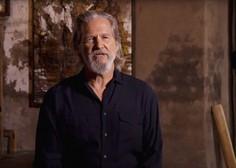 Igralec Jeff Bridges na Twitterju razkril, da je zbolel za rakom
