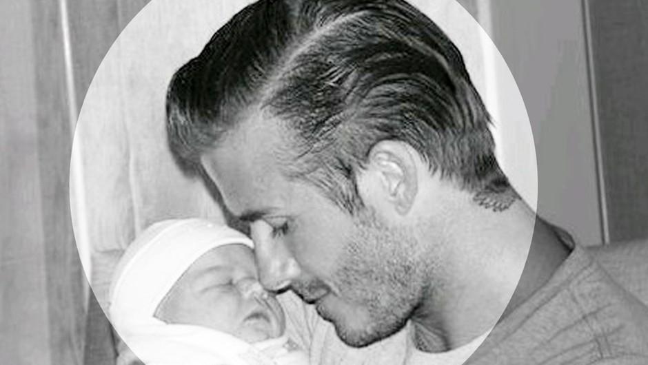 David Beckham na žerjavici zaradi poljuba hčerke, starši so mu stopili v bran! (foto: profimedia)