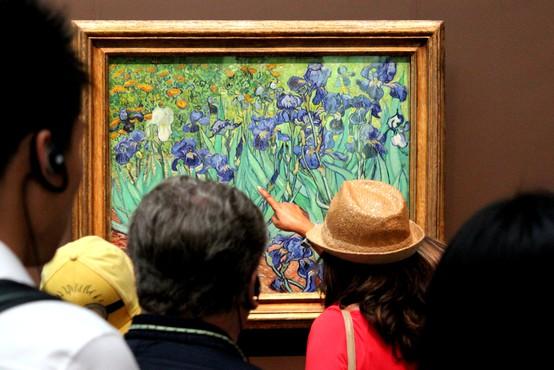 Muzeji po Evropi ostajajo odprti, a skoraj brez obiskovalcev