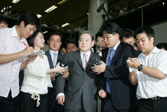 Pri 78 letih se je poslovil karizmatični vodja družbe Samsung Lee Kun-hee