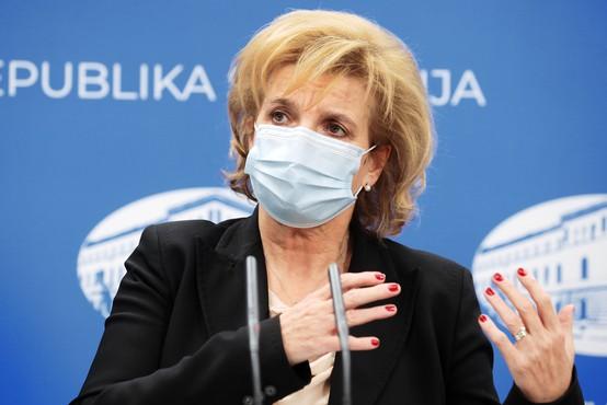 Tudi Bojana Beović za zapiranje vseh nenujnih gospodarskih dejavnosti