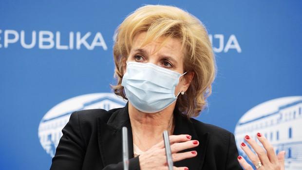 Beovićeva: Testiranje kmalu le še za rizične skupine ter zaposlene v zdravstvu (foto: Daniel Novakovič/STA)