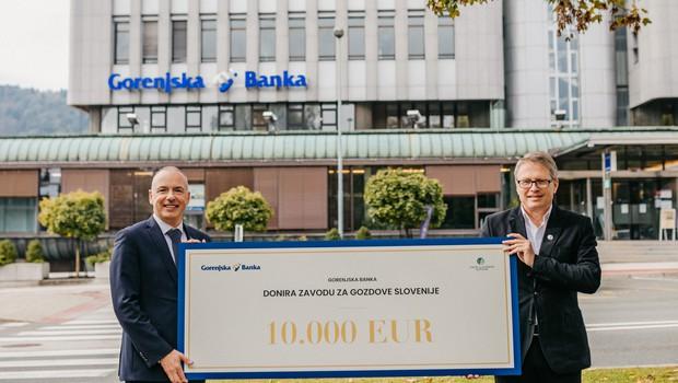 Donacija 10.000 EUR Zavodu za gozdove za razvoj spletne aplikacije in obnovo ter označitev gozdne učne poti (foto: Promocijsko gradivo)