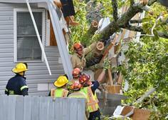 Orkan Zeta pustošil po ZDA in v Louisiani terjal najmanj šest življenj