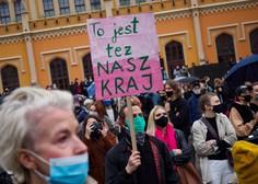 Poljski predsednik za omilitev odločitve ustavnega sodišča o prepovedi splava; podpora protestnikom tudi v Ljubljani