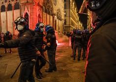 V Italiji rekordno število okužb in protesti, v Avstriji zaostreni ukrepi