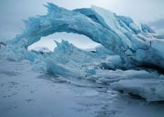 Raven arktičnega pokrova oktobra na najnižji ravni v 41 letih