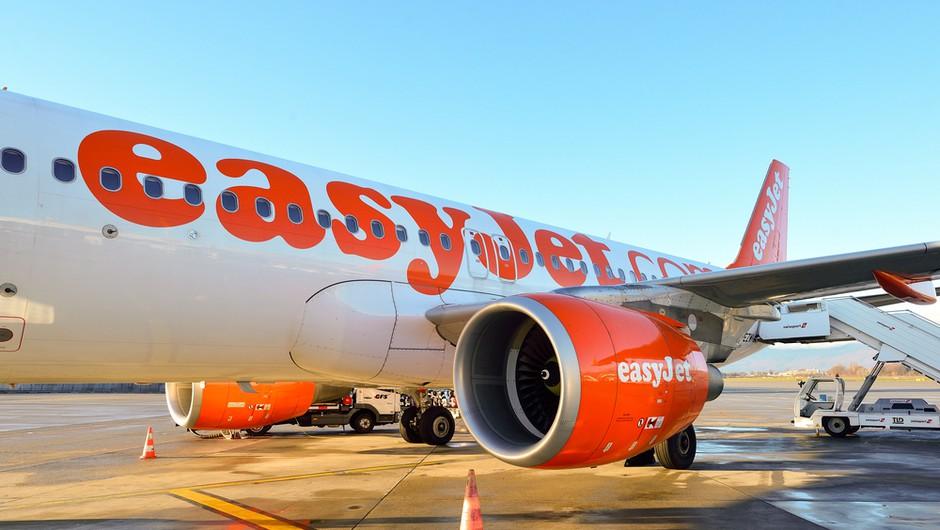 Z Brnika pozimi vse manj letal, poleg Air France je polete začasno prekinil tudi Easyjet (foto: Shutterstock)