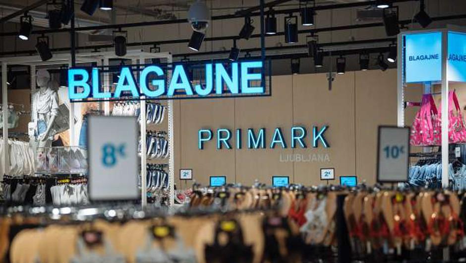 Verigo trgovin z oblačili Primark pandemija hudo prizadela (foto: Jure Makovec/STA)