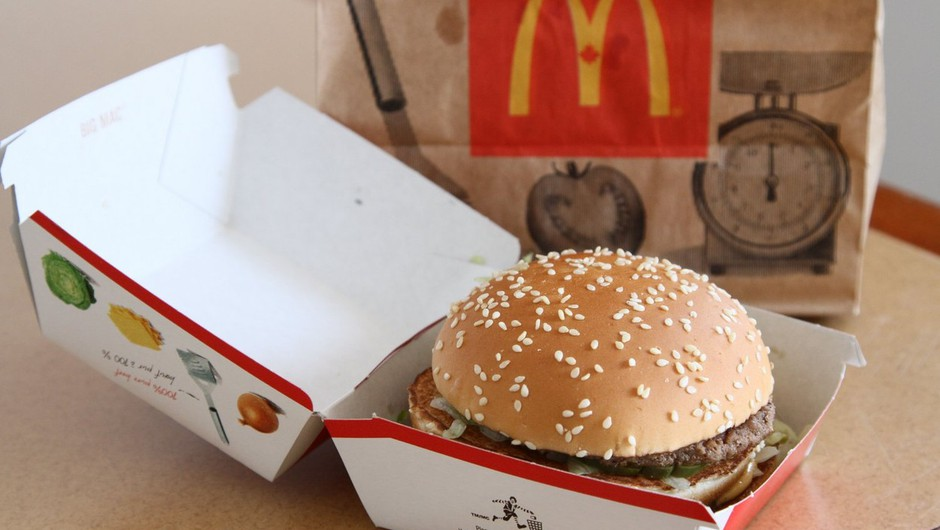 Burger King dela reklamo za McDonalds (foto: profimedia)
