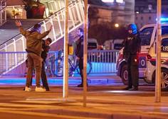 Teror na dunajskih ulicah skozi objektive na telefonih prestrašenih očividcev (foto in video)