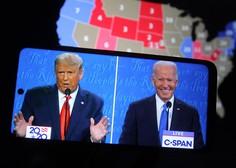 Po ZDA preštevajo glasovnice, Trump in Biden prepričana v zmago
