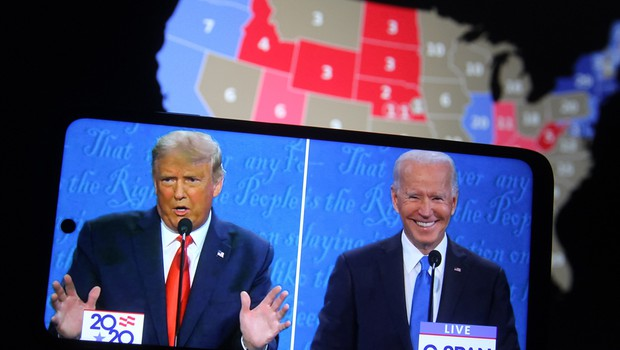 Po ZDA preštevajo glasovnice, Trump in Biden prepričana v zmago (foto: Shutterstock)