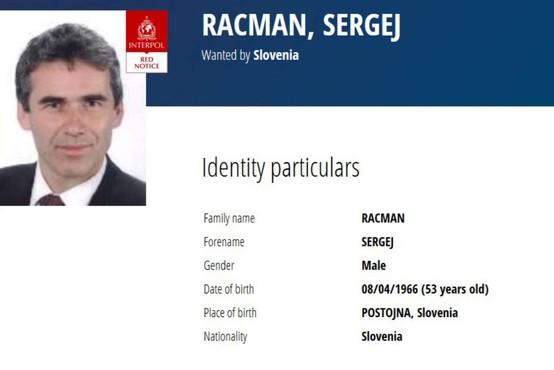 Policija od kanadskih organov prevzela Sergeja Racmana in ga odpeljala v koprski zapor