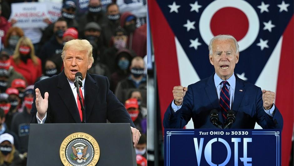Biden še naprej zmanjšuje zaostanek za Trumpom, odločilnih le še pet držav (foto: Shutterstock)