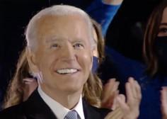 Novoizvoljeni predsednik ZDA Joe Biden v nagovoru ob zmagi Američane pozval, naj si dajo priložnost
