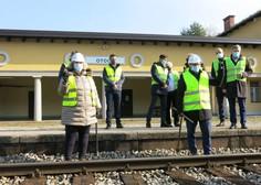 Danes začetek nadgradnje gorenjske železniške proge