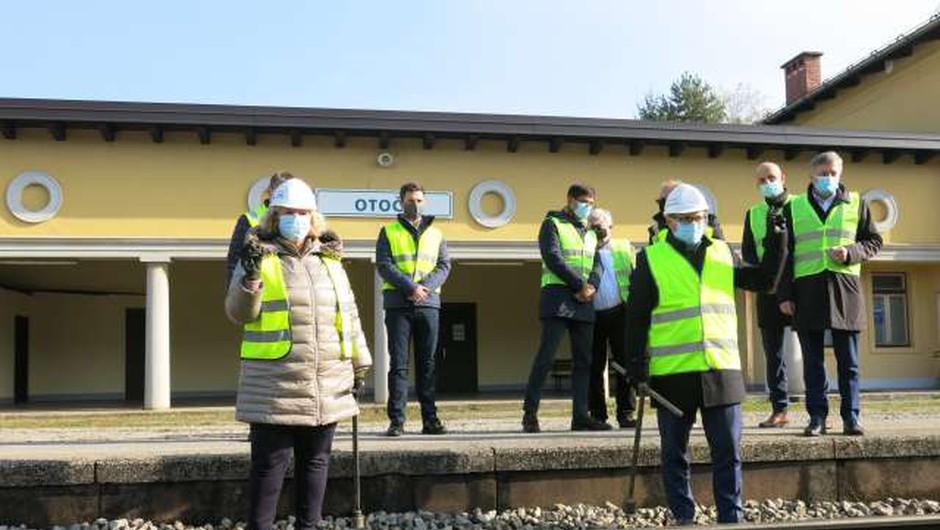 Danes začetek nadgradnje gorenjske železniške proge (foto: Tinkara Zupan/STA)