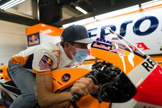 Šestkratni svetovni prvak Marc Marquez to sezono ne bo več tekmoval