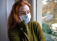 Pri vsakem petem bolniku s covidom-19 v 90 dneh potrdili psihične težave