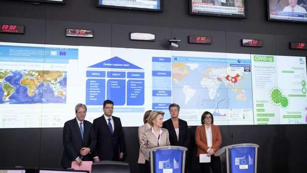 Bruselj predlaga ustanovitev agencije za soočanje s prihodnjimi zdravstvenimi krizami (foto: Thierry Monasse/STA)