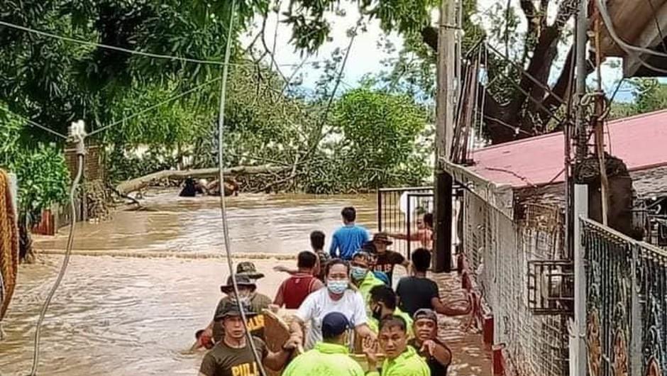 Tajfun Vamco najhuje prizadel filipinsko prestolnico Manilo (foto: profimedia)