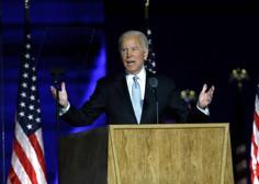 Z zmago v Georgii je Joe Biden zbral 306 elektorskih glasov