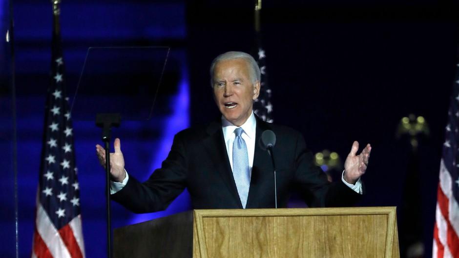 Z zmago v Georgii je Joe Biden zbral 306 elektorskih glasov (foto: profimedia)