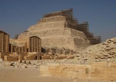 V Sakari, nedaleč od Kaira, odkrili več sto nedotaknjenih sarkofagov