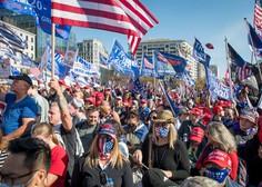 Protest Trumpovih podpornikov na srečo minil z le nekaj osamljenimi incidenti