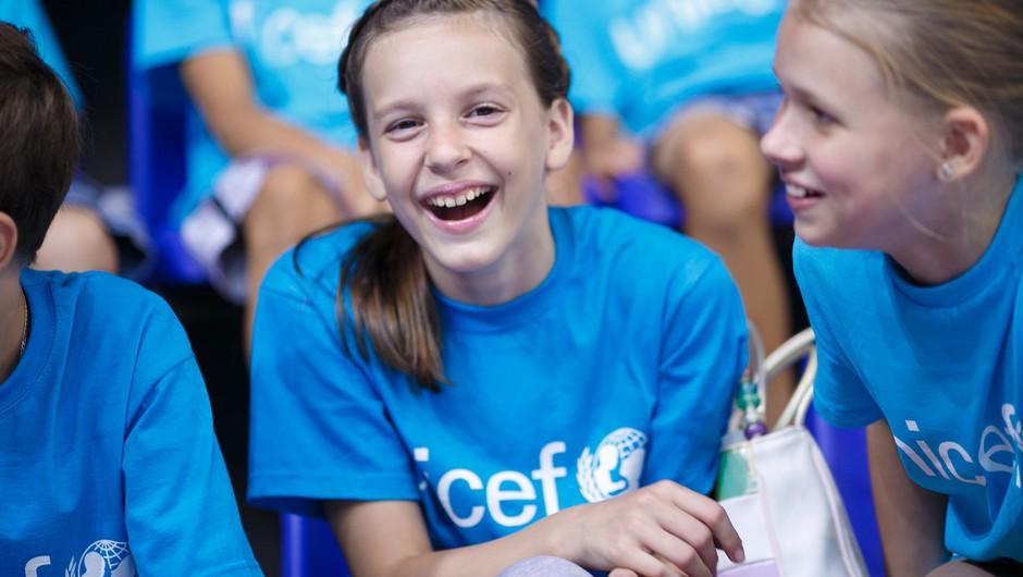 Ob svetovnem dnevu otrok bodo otroci v Sloveniji razkrili, kakšne spremembe si želijo (foto: UNICEF Rudakov)