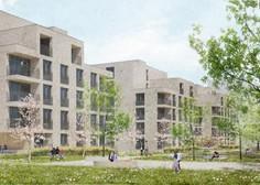 Ljubljanski svetniki podprli gradnjo nove soseske Zvezna, v kateri bo 88 neprofitnih najemnih stanovanj