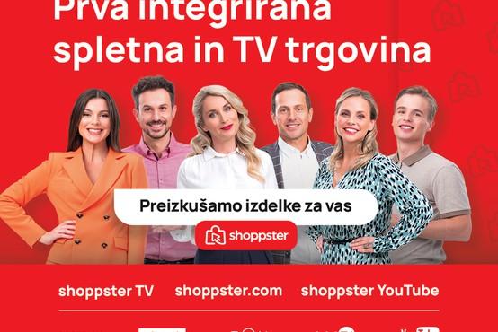 Televizijski in spletni kanal Shoppster TV pričel oddajati tudi v Sloveniji!