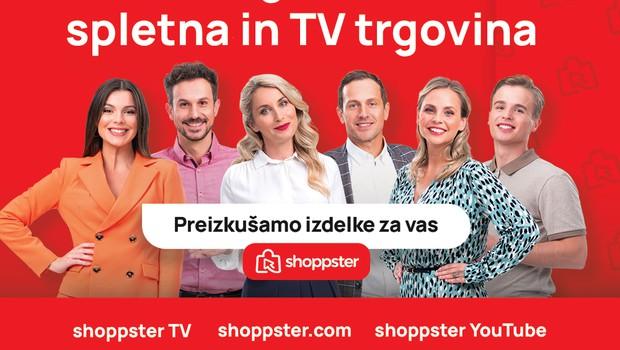 Televizijski in spletni kanal Shoppster TV pričel oddajati tudi v Sloveniji! (foto: shoppster)