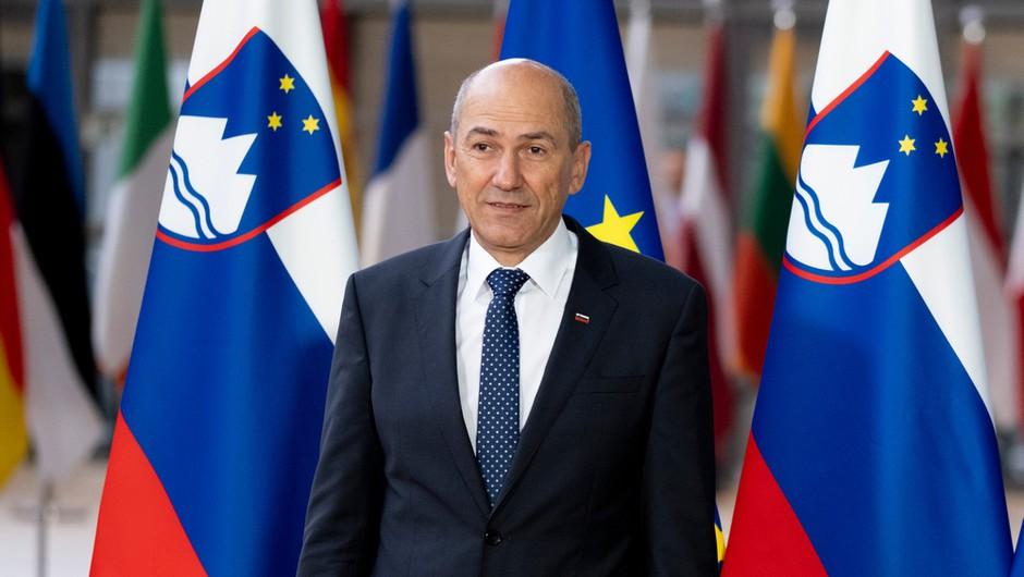 Janša s pismom voditeljem EU o vladavini prava razburil slovenske politike, iz EU zaenkrat brez odzivov (foto: Shutterstock)