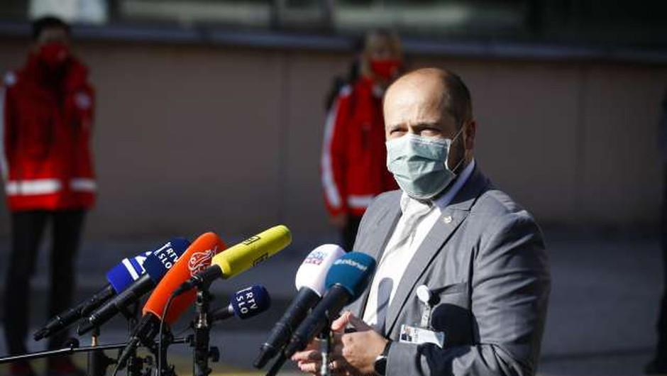 Ljubljanski UKC v diagnostično-terapevtskem servisu odprli še preostale cone (foto: Anže Malovrh/STA)