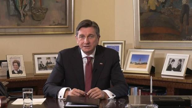 "Borut Pahor: ""Predsedniška palača je z današnjim dnem postala UNICEF-ova varna točka!"" (foto: Jan Kovačič/UPRS)"