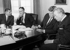 Prvo poročilo o podnebnih spremembah prvič na mizi politikov kmalu po atentatu J. F. Kennedyja