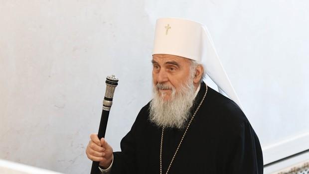 Zaradi covida-19 umrl patriarh Srbske pravoslavne cerkve Irinej (foto: Profimedia)