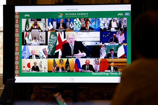 Na virtualnem zasedanju G20 so se zavzeli za pravično razdelitev cepiva