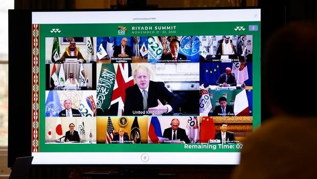 Na virtualnem zasedanju G20 so se zavzeli za pravično razdelitev cepiva (foto: profimedia)