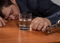 Stranski učinek epidemije je tudi večje tveganje za čezmerno pitje alkohola