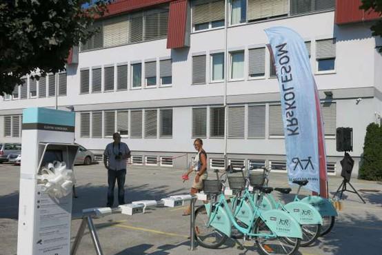 Kranjski sistem izposoje koles letos prvič tudi v zimskem času
