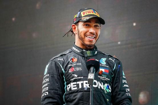 Včasih tudi svetovni prvak Lewis Hamilton doživi poraz