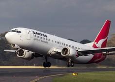 Qantas: Potrdilo o cepljenju proti koronavirusu bo obvezno za vse letalske potnike