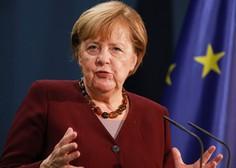 V ograjo urada kanclerke Angele Merkel se je zaletel avtomobil