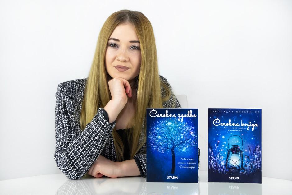 Nadaljevanje prodajne uspešnice Čarobna knjiga že na policah (foto: Založba Čarovnost)