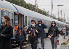 Na Hrvaškem prvič več kot 4000 okuženih, na Madžarskem 115 smrti