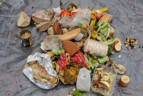 Prebivalec Slovenije je lani zavrgel povprečno 1,3 kilograma hrane na teden